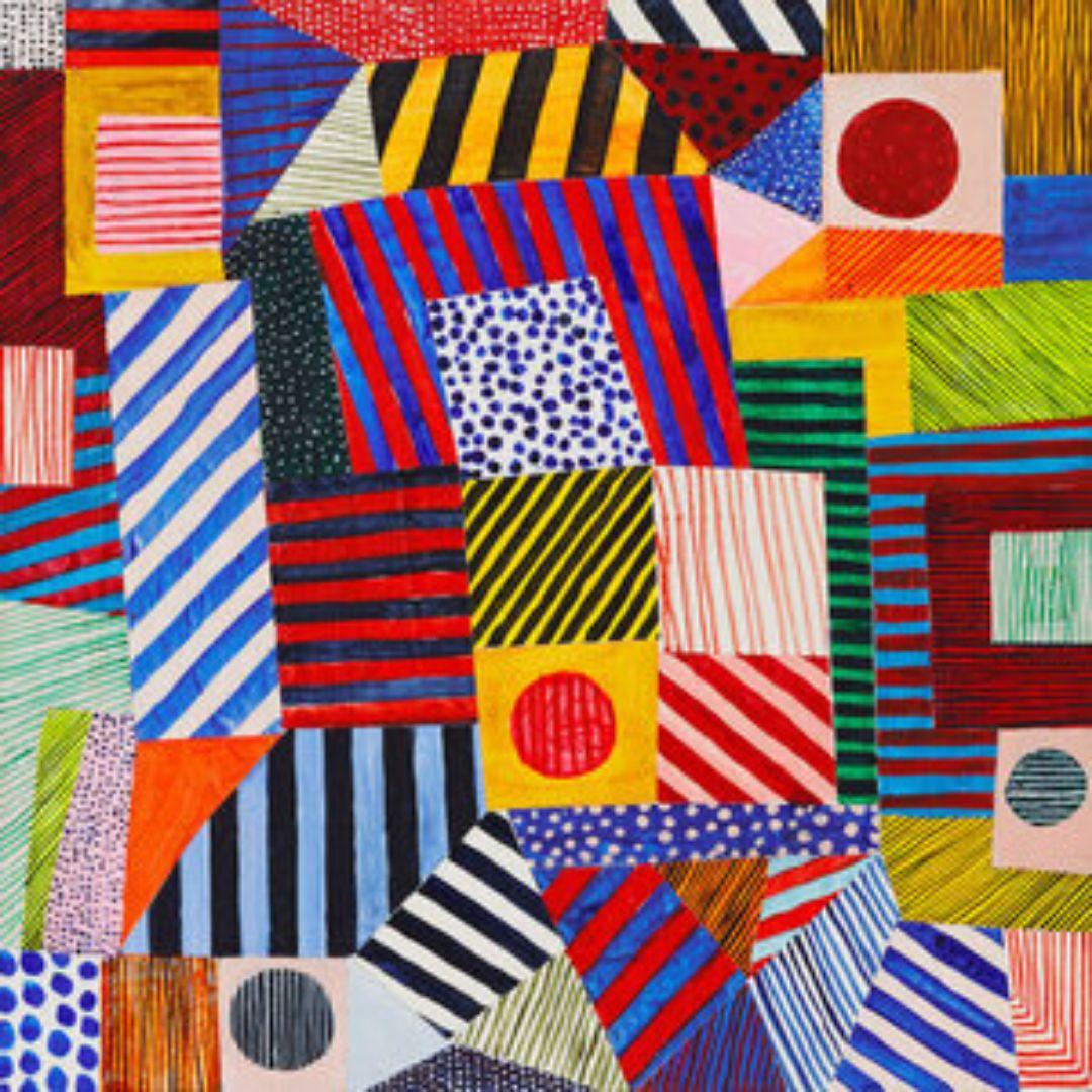 Online | Abstract Razzle Dazzle | 5-9 years
