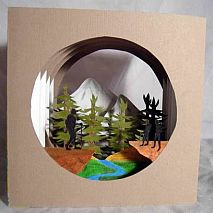 Sculpture | Tunnel Books or Shadow Boxes | 10-12 years