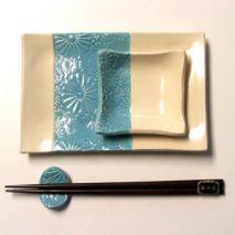 Make a Ceramic Sushi Serving Set