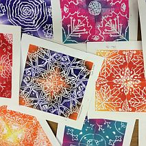 Kaleidoscopic Prints | 7-9 years