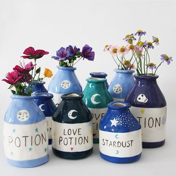 Ceramic Potion Bottles! | 7-9 years