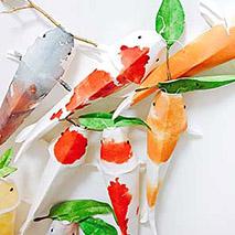 Paint+Make | 3D Koi Fish | 7-9 Years