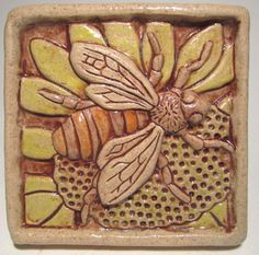 Ceramics | Bug Tiles ! | 5-7 years