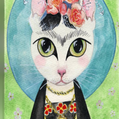 Online | Painting | Frida Catlo | 8-12 years