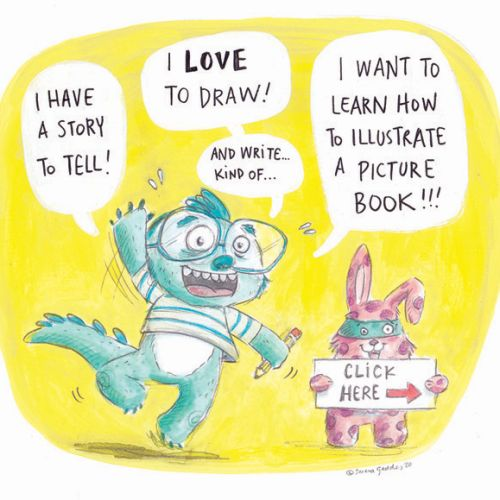 What's your story? | Writing and Illustrating Picture Books with Serena Geddes | 12+