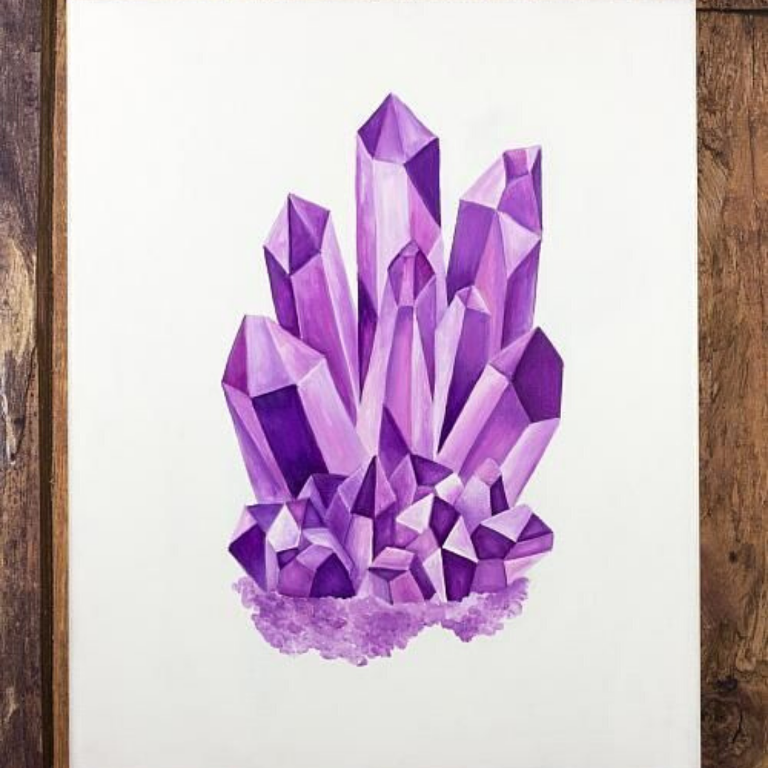 Online | Ink | Crystal Formation | 8-12 years