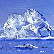 Paint An Antarctic Landscape | 8-12 years