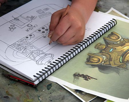 Cartoon Illustration | Fun with Cartooning | 5-7 years