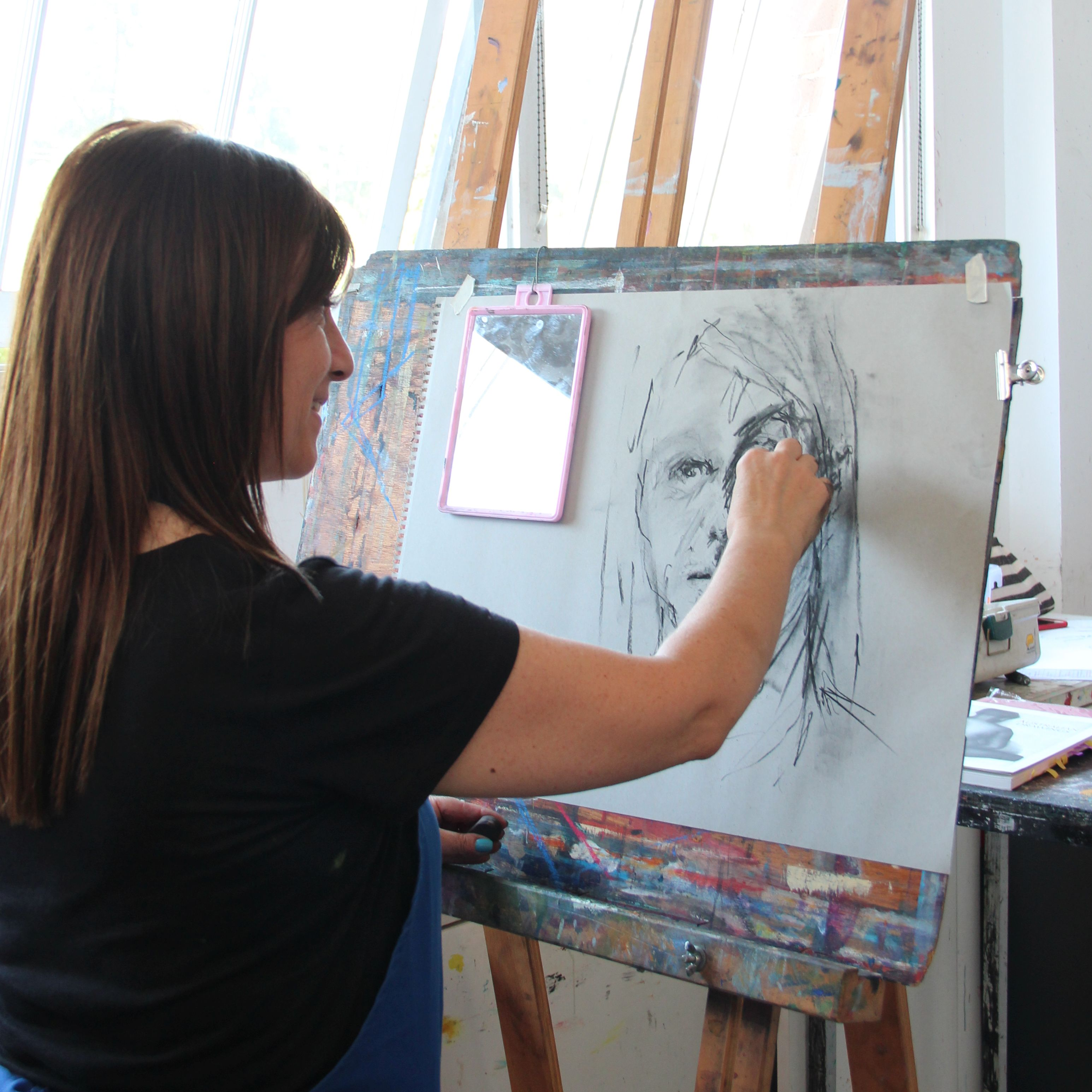 Intro to Drawing Portraits One Day Workshop Marie Mansfield
