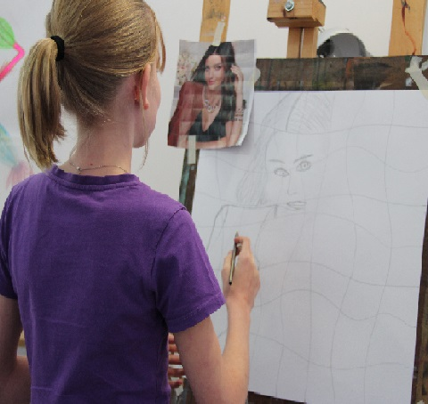 Developing Your Drawing | Portrait Drawing | 8-12