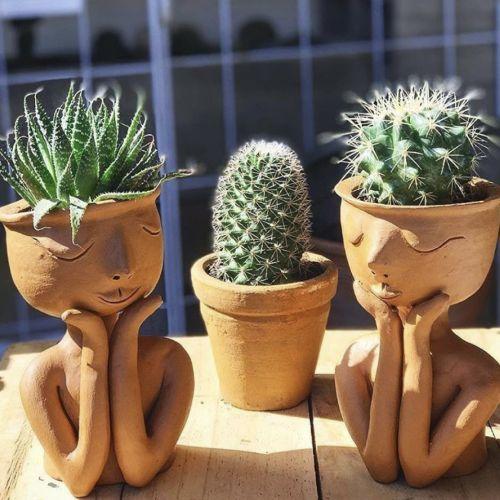 Ceramics | Big Plant and Little Plant Pots with Kara Pryor
