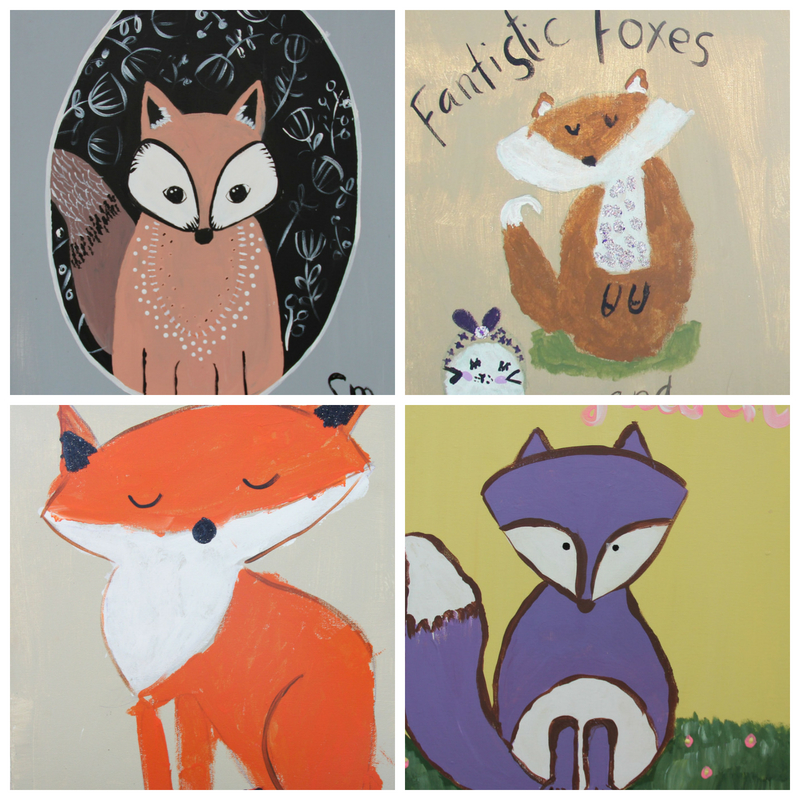 Paint | Fantastic Foxes | 8-12 years