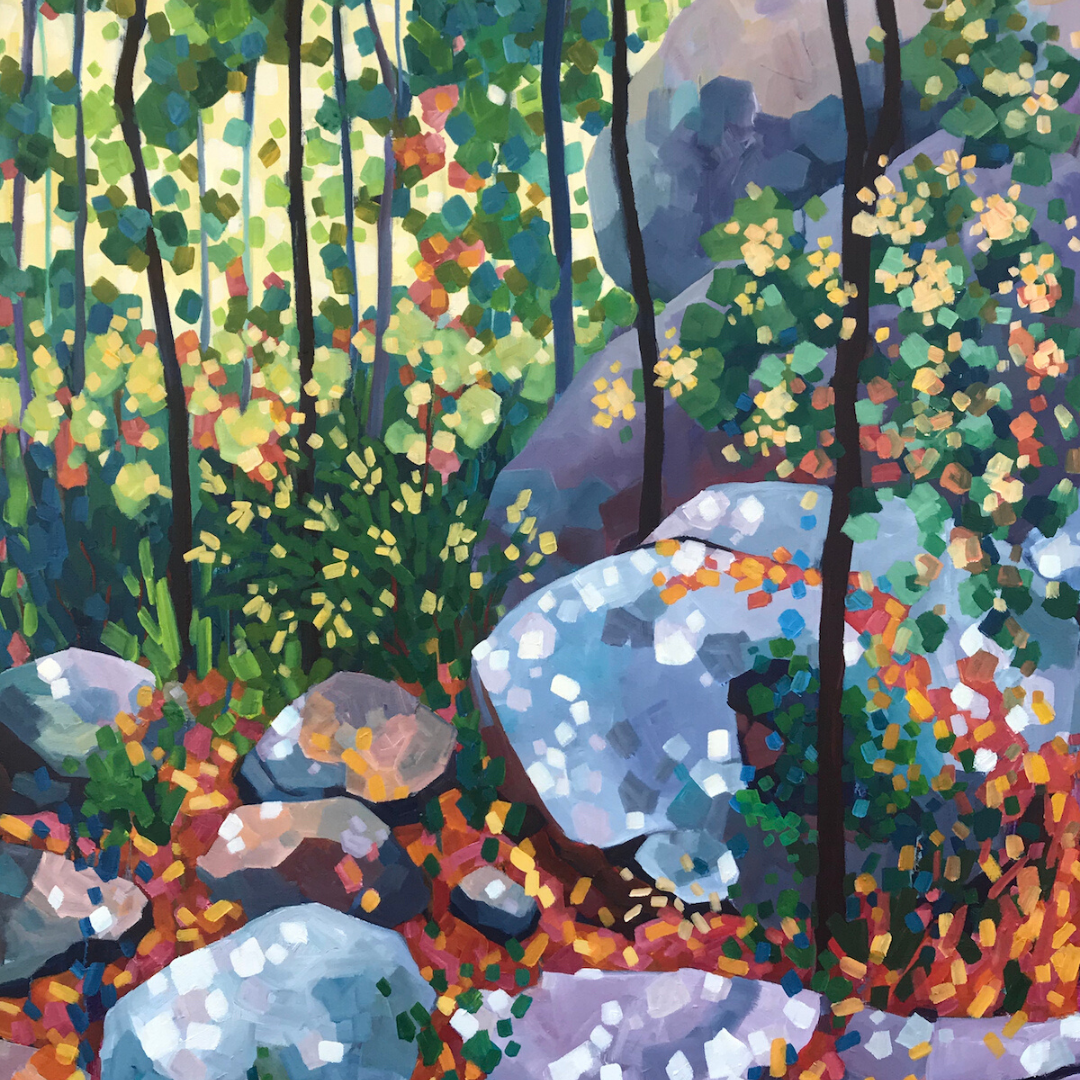 Acrylic Painting | Vibrant Landscapes  |  Mellissa Read-Devine
