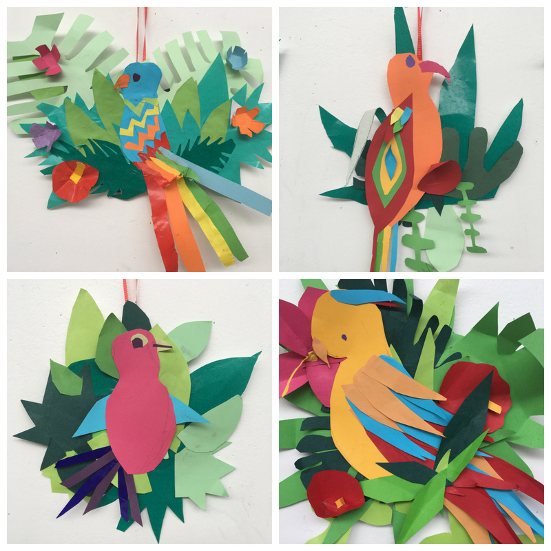 Paper Works inspired by Mlle Hipolyte | 8-12 years