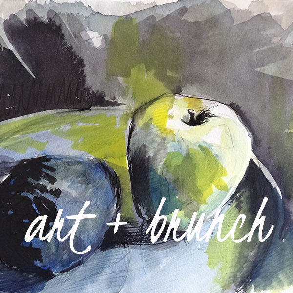 Art Brunch | Capturing light using Watercolours | Tanya Baily