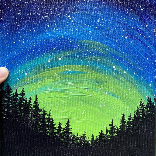 Paint   Forest Galaxy   7-9 years