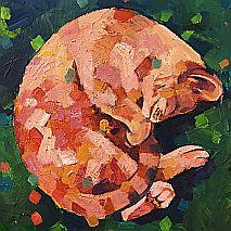 Acrylic Painting | Contemporary Pet Portraits | Mellissa Read-Devine