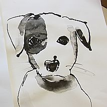 Pet Portraits in Watercolour | 8-12 years
