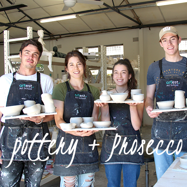 Pottery + Prosecco | Pottery Wheel Evening Workshop