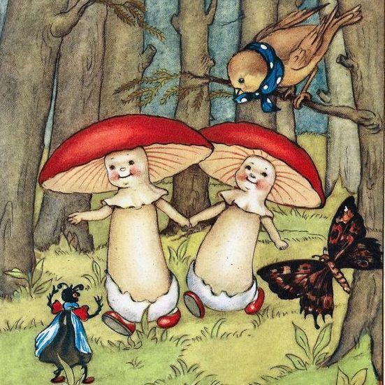 Creative Drawing | Fungi Folk | 8-12 years