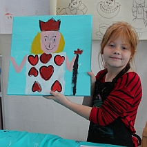 Paint | Alice, Cheshire Cats, White Rabbits and more! | 7-9 years
