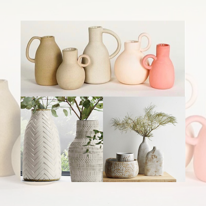 Ceramic Vases or Decorative Planters with Kara Pryor
