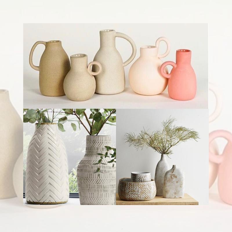 Ceramic Vases or Decorative Planters with Kara Pryor