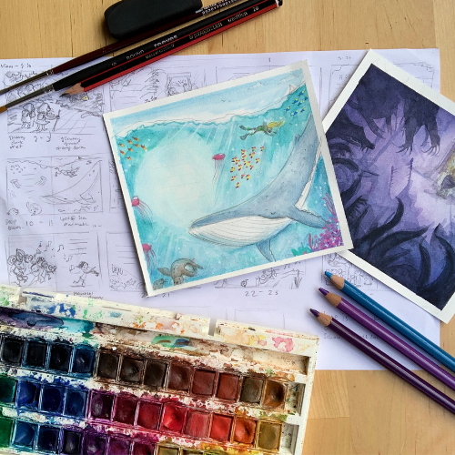 Online | Picture Book Illustration: From Story Idea to Finished Art | Serena Geddes