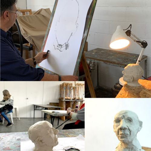 Drawing in Clay with Tannya Harricks