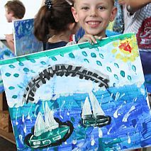 Painting | Learn to Paint Oceans and Waves | 7-9 years