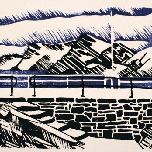 Printmaking | Linocut Landscapes | 12+