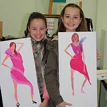 Drawing | Funky Fashion Illustration and Design | 8-12 years