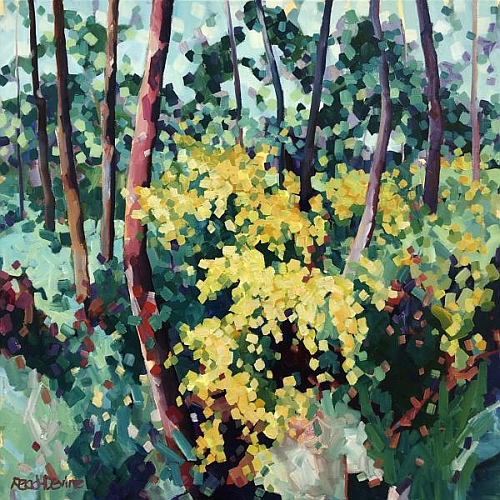 Edge GreenWay | The Great (art) Outdoors | Bright Bold Acrylics with Mellissa Read-Devine
