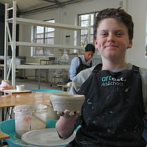 Ceramics |  Wheel Throwing and Handbuilding Pottery | over 10 years