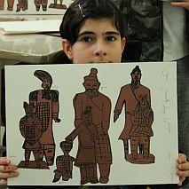 Printmaking | Terracotta Army | 8-12 years