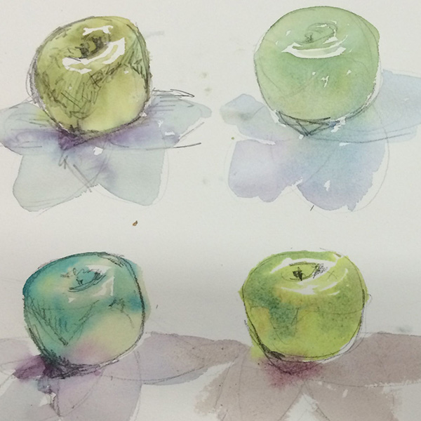 Watercolour Painting Open Studio | Tanya Baily
