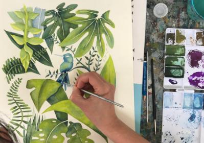 learn-gouache-painting-sydney-class
