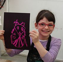 Printmaking | Bugged Out | 5-7 years