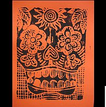 Print   Day of the Dead   7-9 years