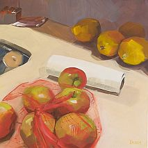 Quick and Fresh Still Life in Oils | Andrea Huelin