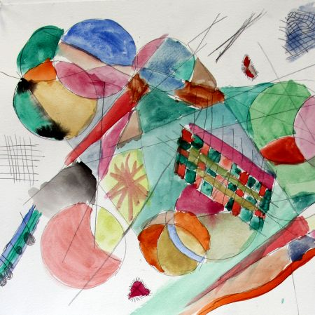 Painting | Musical Watercolours inspired by Kandinsky | 5-7 years