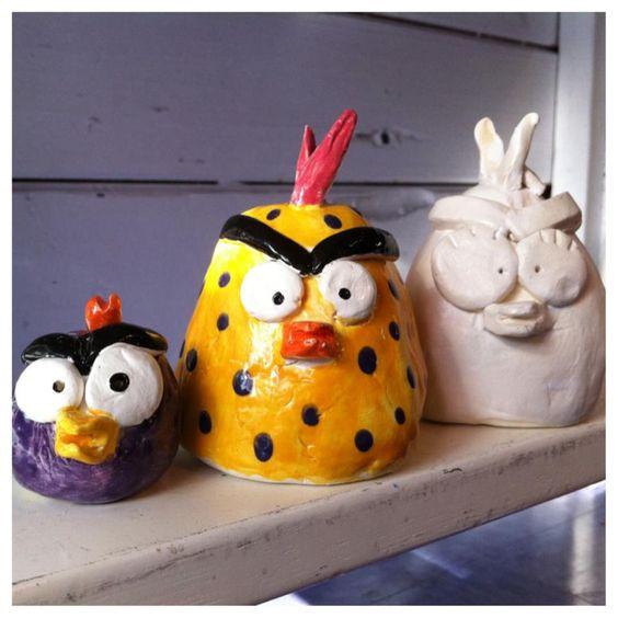 Ceramic (Angry) Birds | 5-7 years