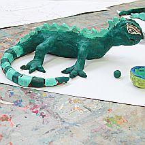 Clay   Goannas, Geckos and Lizards   7-9 years
