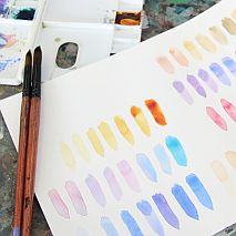Sketching in Watercolour | Family Art Class Adults + Kids 10 and over
