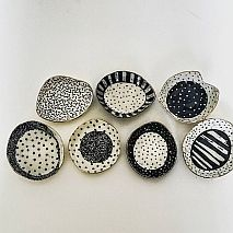 Ceramic Plates and Bowls with Personality