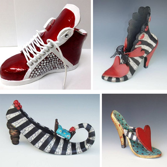 Ceramics | Funky Shoes | 8-12 years