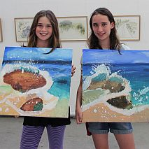 Painting Tricky Subjects Water Oceans Waves | Ages 11 and over