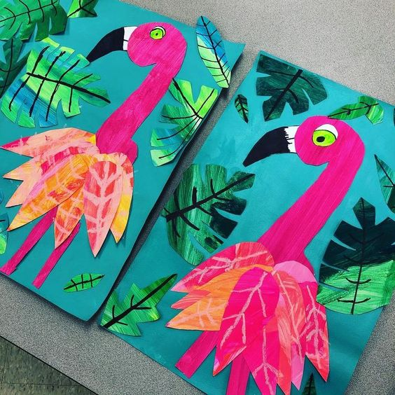 Fancy Flamingos! | 5-7 years