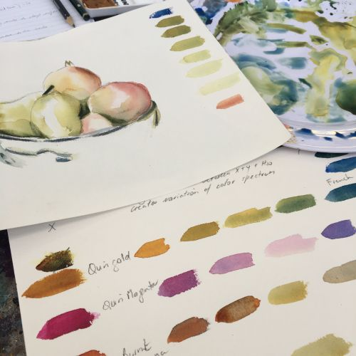 Watercolour Bootcamp with Susie Murphie
