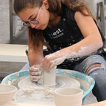 Ceramics |  Wheel Throwing and Handbuilding Pottery | 8-12 years